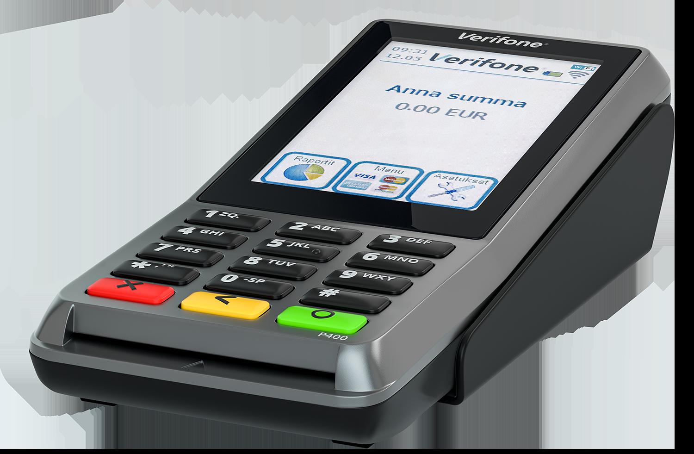 Kiinteä P400 on roisketiivis ja kestävä maksupääte, joka on helppo liittää suoraan olemassaolevaan laajakaistaan tai WiFiin. P400 on ylivoimainen ratkaisu tiskillä tapahtuville maksutapahtumille.