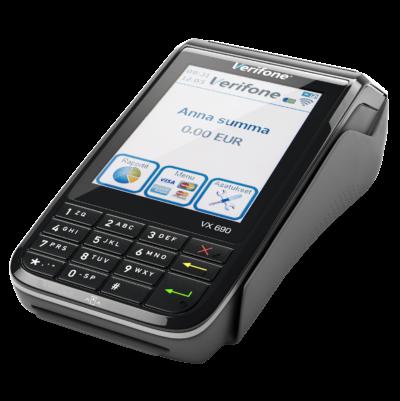 Kannettavan VX 690-maksupäätteen käteen sopiva muotoilu ja erittäin nopea prosessori vie maksujen vastaanottamisen täysin uudelle tasolle. Kannettava maksupääte VX 690 on uuden sukupolven maksupääte, joka on kauppiaan tehokkain kumppani kaikkeen kaupankäyntiin.