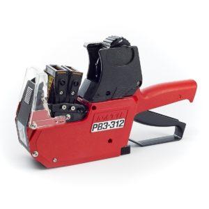 Sato PB3-312 Maxi ja Dispencer ovat valintasi mukaan kaksi- tai kolmerivisiä merkintä- ja hinnoittelukoneita ammattikäyttöön.
