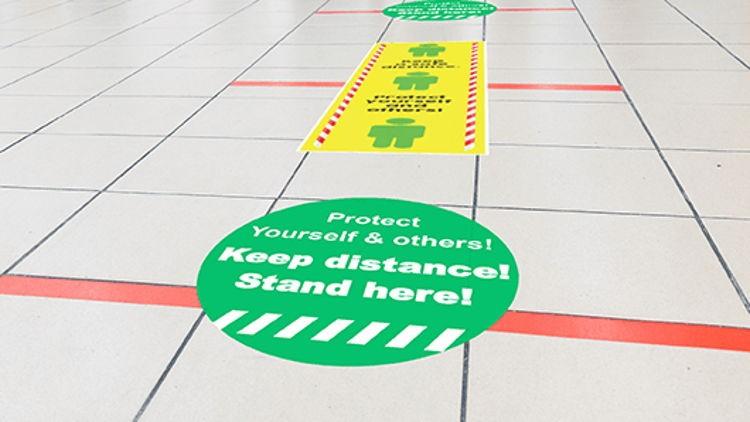 Itseliimautuva, pyöreä lattiatarra laser- ja led-tulostukseen. Mainosta tai informoi asiakastasi lattiatarroin. Tulostettavilla lattiatarroilla teet huomattavaa mainontaa ja ohjaat asiakkaitasi selkeästi.
