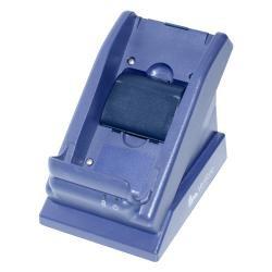 Maksupäätteen lataava pöytäteline, jossa on erillinen paikka myös toiselle akulle. Soveltuu päätteille Verifone VX-680 ja VX-670.